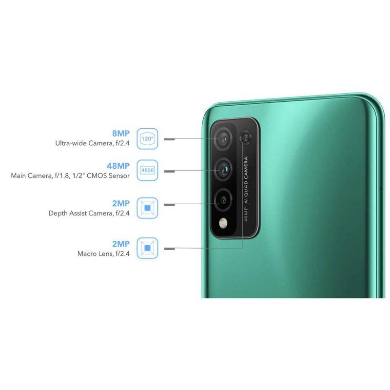 گوشی موبایل آنر مدل honor 10x lite دو سیم کارت ظرفیت 128|4 گیگابایت
