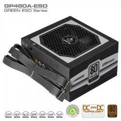 منبع تغذیه کامپیوتر گرین مدل GP480A ESD