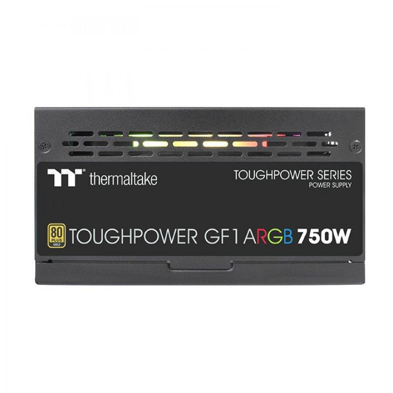 پاور ترمالتیک فول ماژولار مدل Toughpower GF1 ARGB 750W Gold TT Premium Edition توان 750 وات
