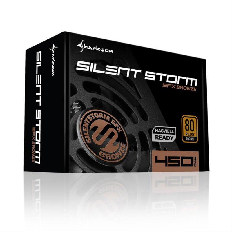 پاور شارکن مدل SilentStorm SFX Bronze با توان 450 وات