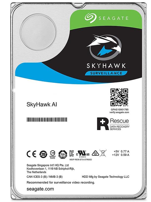 هارد سیگیت مدل ST16000VE0008 Skyhawk AI Surveillance با ظرفیت 16 ترابایت
