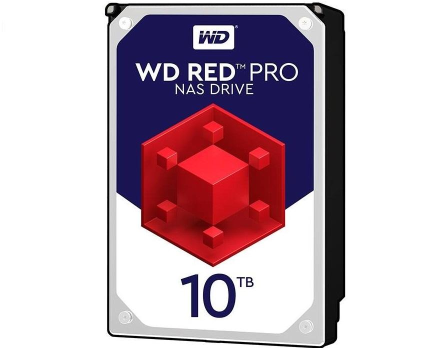 هارددیسک اینترنال وسترن دیجیتال مدل Red Pro WD101KFBX با ظرفیت 10 ترابایت