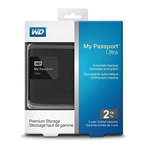 هارد اکسترنال وسترن دیجیتال پاسپورت آلترا پریمیوم 2 ترابایت