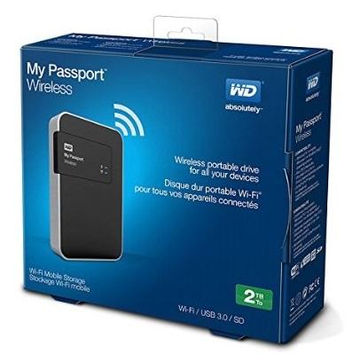 هارد دیسک بیسیم وسترن دیجیتال مدل My Passport Wireless ظرفیت 2 ترابایت