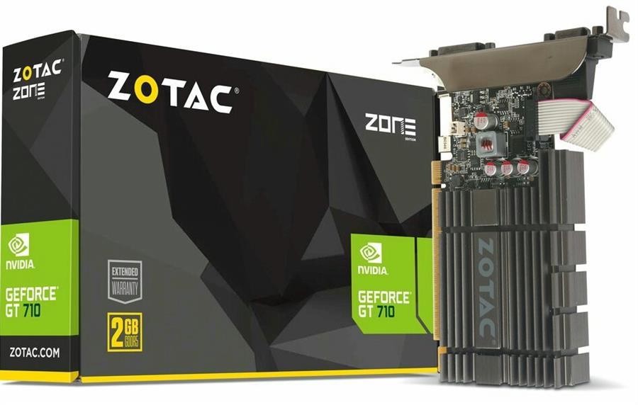 کارت گرافیک زوتاک مدل جی تی 710 ZONE Edition با حافظه 2 گیگابایت