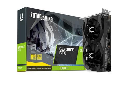ZT_T16610F_10L GeForce GTX 1660 Ti  6GB Graphics Card
