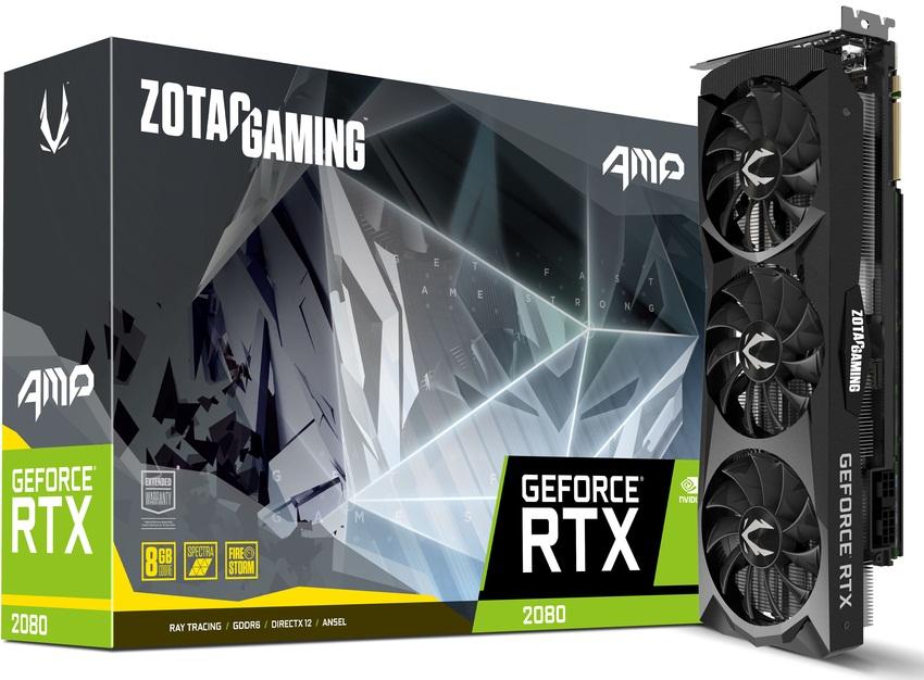کارت گرافیک زوتک مدل GeForce RTX 2080 AMP با حافظه 8 گیگابایت