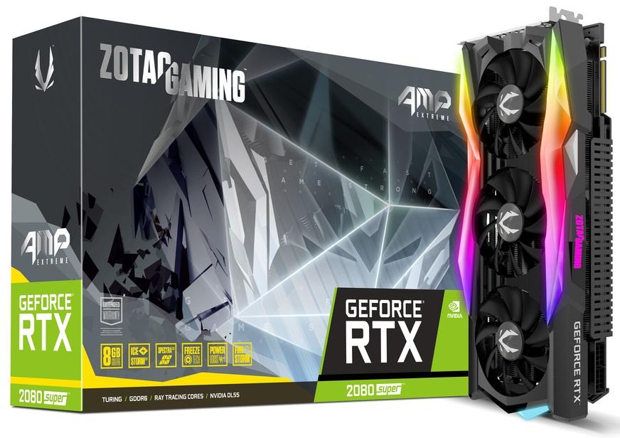 کارت گرافیک زوتک مدل GeForce RTX 2080 SUPER AMP Extreme با حافظه 8 گیگابایت