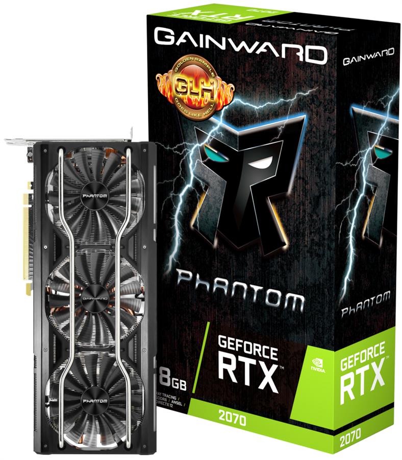 کارت گرافیک گینوارد مدل GeForce RTX 2070 Phantom GLH با حافظه 8 گیگابایت