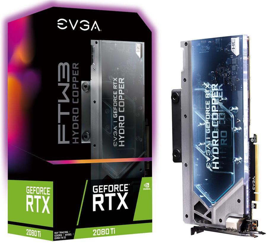 کارت گرافیک ای وی جی ای مدل RTX 2080 Ti FTW3 ULTRA HYDRO COPPER GAMING با حافظه 11 گیگابایت