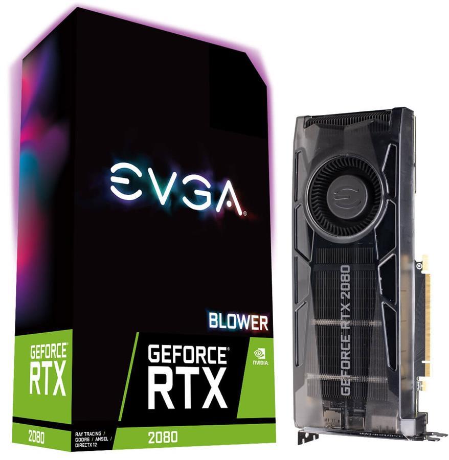 کارت گرافیک ای وی جی ای مدل GeForce RTX 2080 GAMING 8G با حافظه 8 گیگابایت