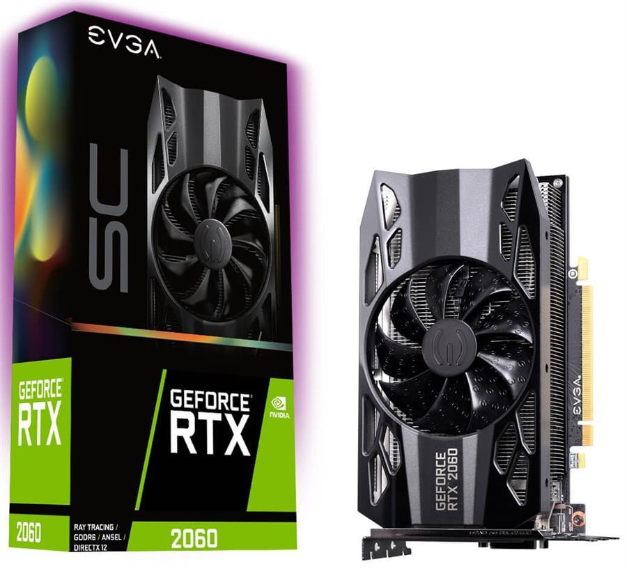 کارت گرافیک ای وی جی ای مدل GeForce RTX 2060 SC GAMING با حافظه 6 گیگابایت
