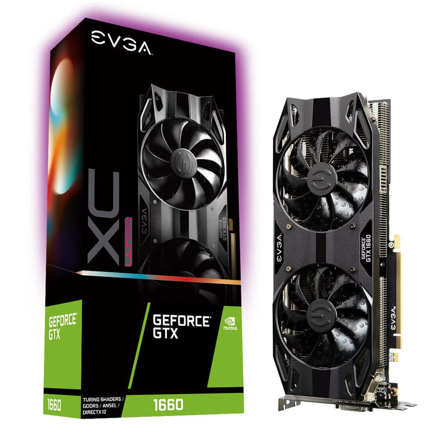 کارت گرافیک ای وی جی ای مدل GeForce GTX 1660 XC ULTRA GAMING  با حافظه 6 گیگابایت