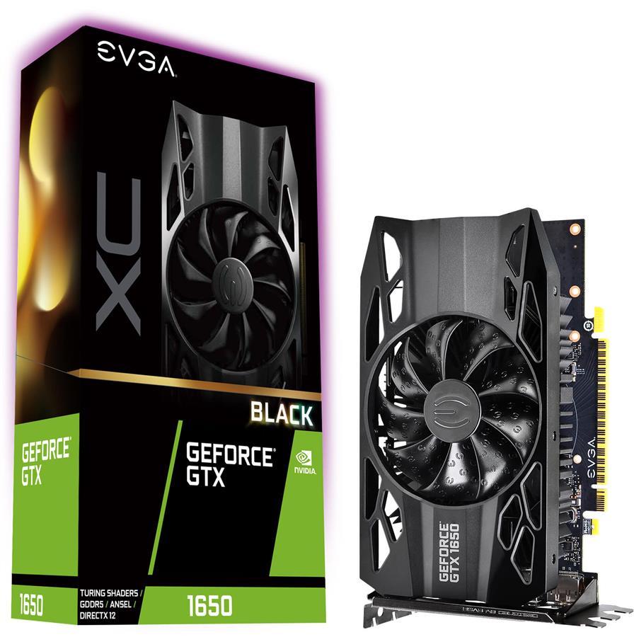 کارت گرافیک ای وی جی ای مدل GeForce GTX 1650 XC Black GAMING  با حافظه 4 گیگابایت