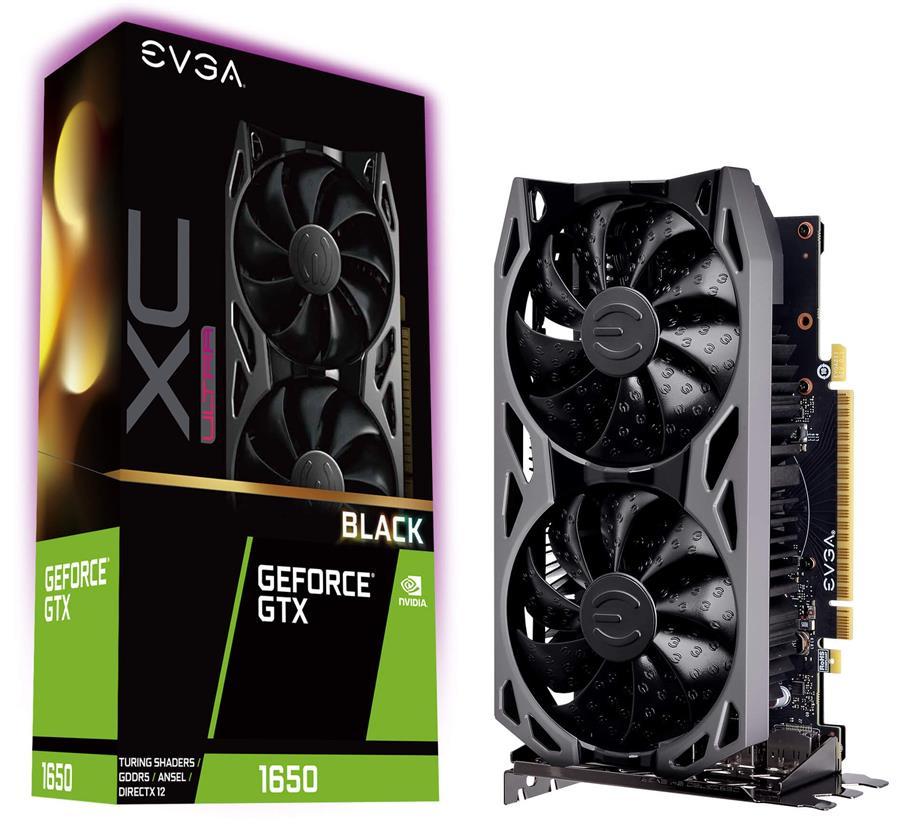 کارت گرافیک ای وی جی ای مدل GeForce GTX 1650 XC Ultra Black GAMING  با حافظه 4 گیگابایت