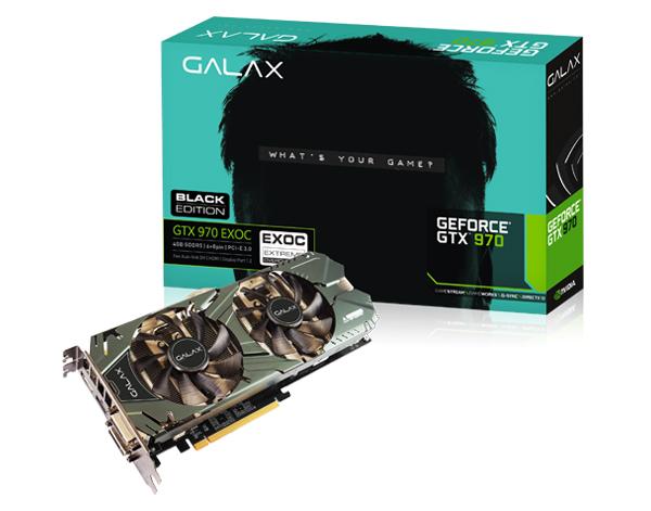 کارت گرافیک گالکس مدل جی تی ایکس 970 بلک ادیشن با ظرفیت 4 گیگابایت
