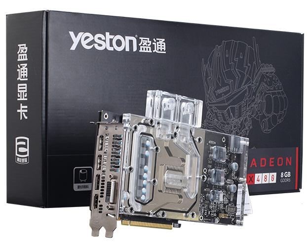کارت گرافیک یستون مدل RX480 8G D5 XA با حافظه 8 گیگابایت