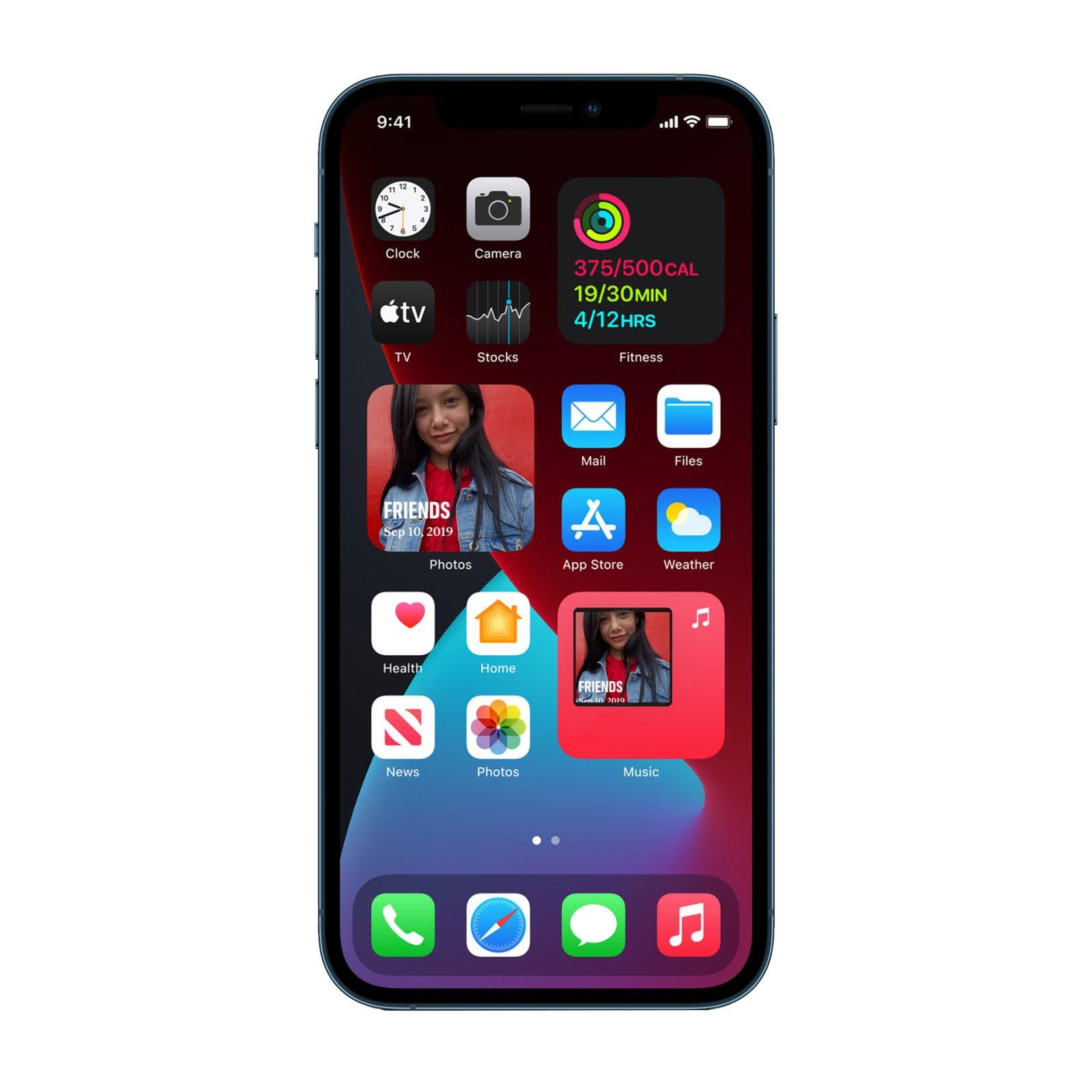 گوشی موبایل اپل مدل  iphone 12 pro max za a  5g دو سیم کارت ظرفیت 512 6   گیگابایت