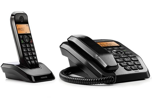 تلفن رومیزی بیسیم و باسیم موتورولا مدل اس سی ۲۵۰ ای