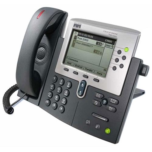 تلفن تحت شبکه باسیم سیسکو مدل CP ۷۹۶۰G