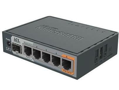 روتر شبکه ۵ پورت میکروتیک مدل hEX S RB۷۶۰iGS