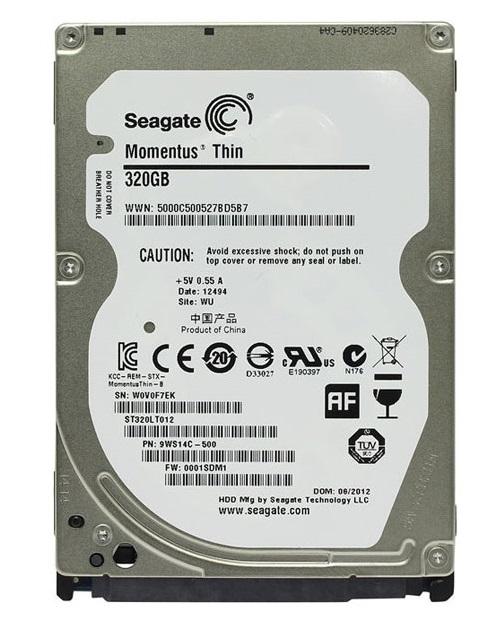 هارد دیسک لپ تاپ سیگیت با ظرفیت 320 گیگابایت