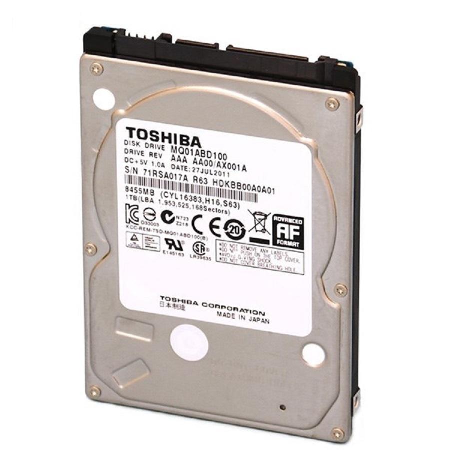 هارد دیسک لپ تاپ توشیبا مدل MQ01ABD100 با ظرفیت 1 ترابایت