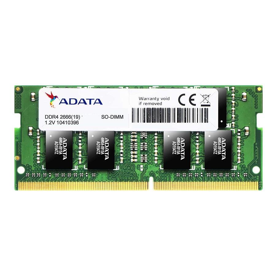 رم لپ تاپ ای دیتا با فرکانس 2666 مگاهرتز و حافظه 16 گیگابایت