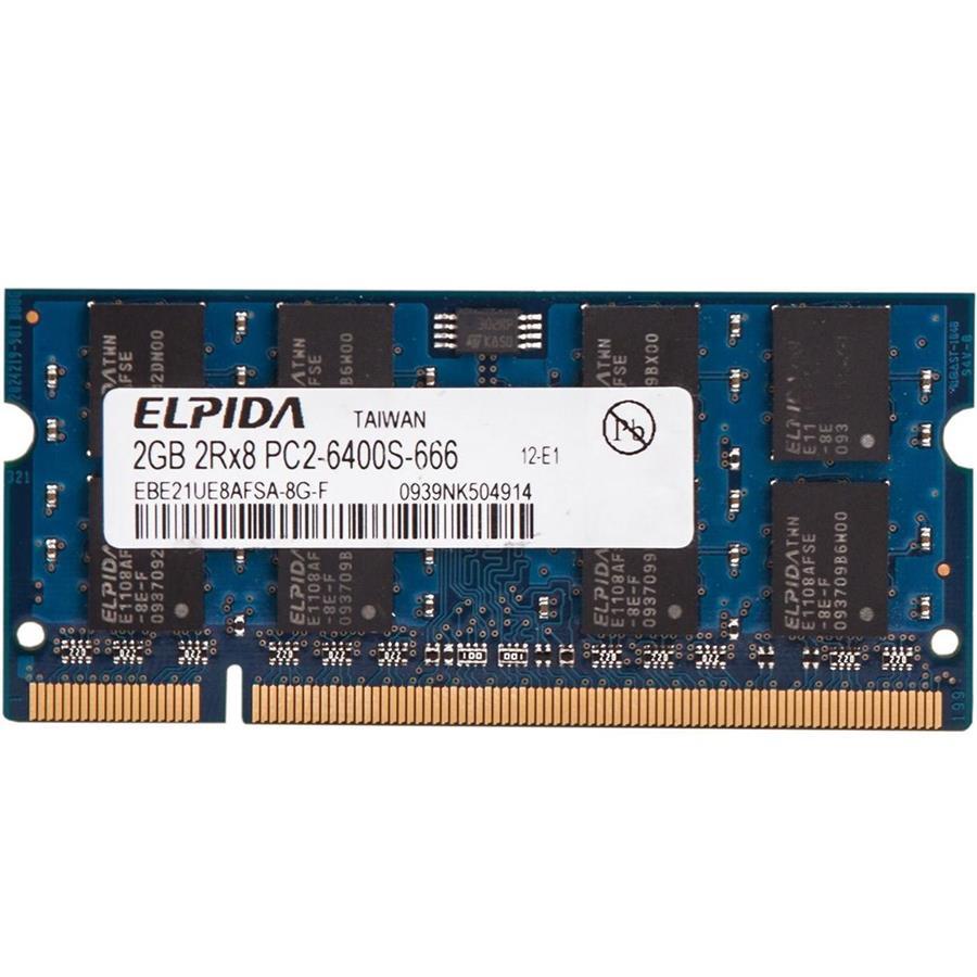 رم لپ تاپ الپیدا 2 گیگابایت با فرکانس 800 مگاهرتز