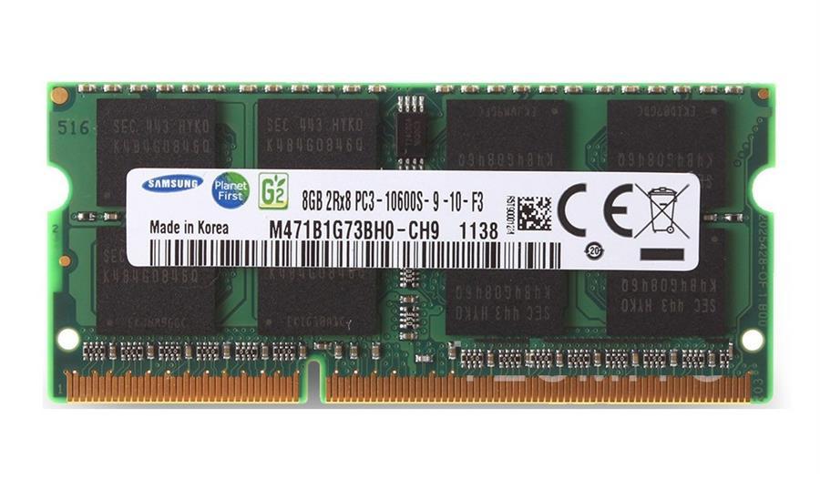 رم لپ تاپ DDR3 سامسونگ با حافظه 8 گیگابایت و فرکانس 1333 مگاهرتز