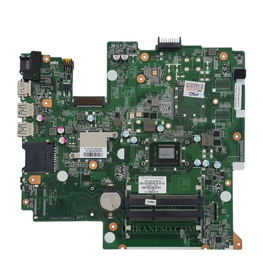 مادربرد لپ تاپ اچ پی مدلPavilion 14_B CPU_Celeron_U33C بدون گرافیک