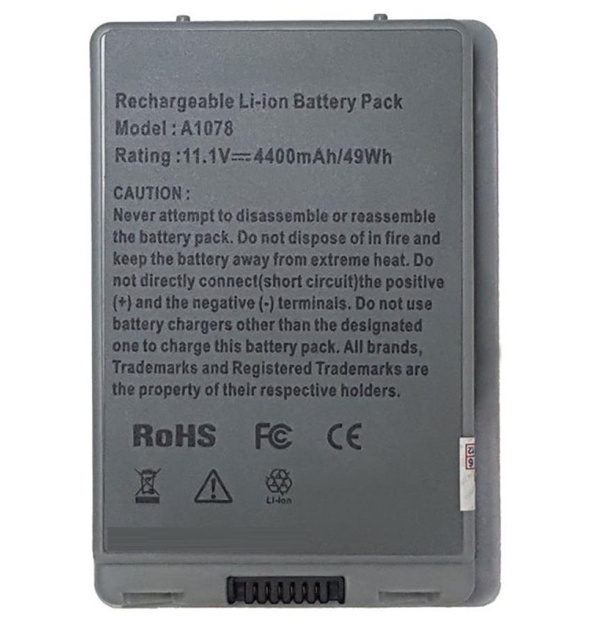 باتری لپ تاپ اپل Macbook A1078 6Cell