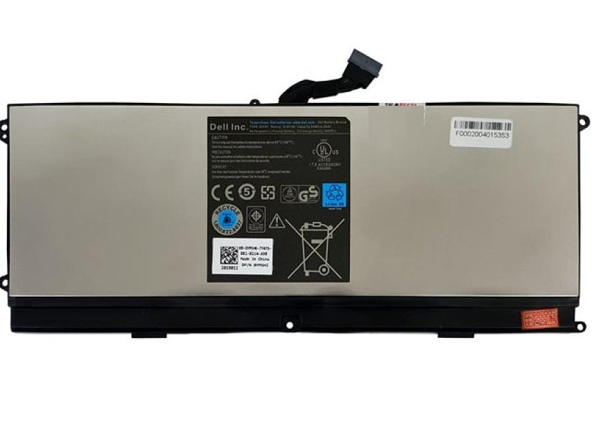 باتری لپ تاپ دل XPS 15Z_0HTR7 روکش فلزی داخلی اورجینال