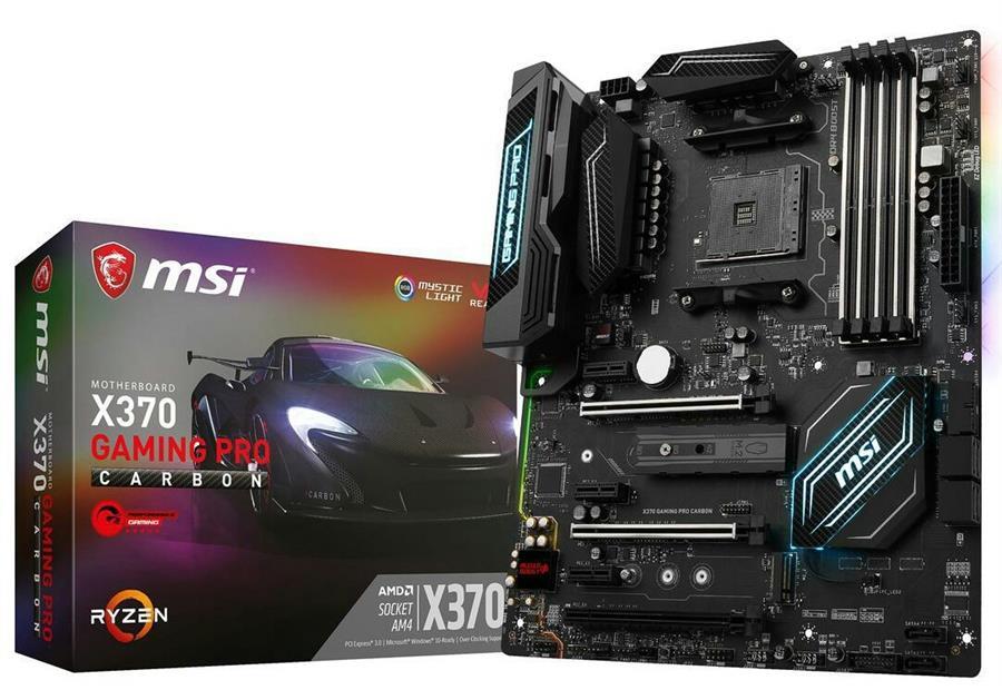 مادربرد ام اس آی مدل ایکس 370 گیمینگ پرو کربن سوکت AMD
