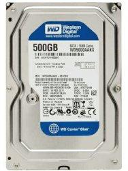هارد اینترنال استوک  وسترن دیجیتال WD5000AAKX Blue با ظرفیت 500 گیگابایت