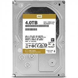 هارد دیسک اینترنال وسترن دیجیتال سری Gold ظرفیت 4 ترابایت