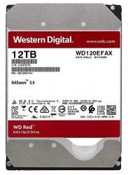 هارددیسک اینترنال وسترن دیجیتال مدل WD120EFAX Red با ظرفیت 12 ترابایت