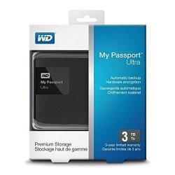 هارد اکسترنال وسترن دیجیتال پاسپورت آلترا پریمیوم 3 ترابایت