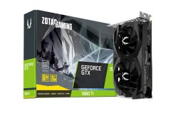 ZT_T16620F_10L GeForce GTX 1660 Ti  6GB Graphics Card