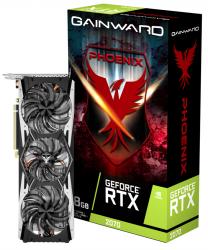 کارت گرافیک گینوارد مدل GeForce RTX 2070 Phoenix 3X FAN با حافظه 8 گیگابایت