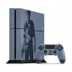 کنسول بازی سونی مدل Playstation 4 Uncharted کد CUHJ_10011 ریجن 1 ظرفیت 500 گیگابایت