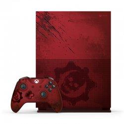 کنسول بازی مایکروسافت مدل Xbox One S ظرفیت 2 ترابایت طرح Gears Of War 4 به همراه بازی