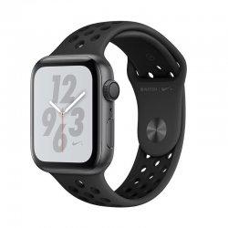 اپل واچ سری 4 مدل Nike Plus 44mm بدنه آلومینیومی به رنگ مشکی با بند سیلیکونی