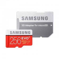 کارت حافظه MicroSDXC سامسونگ مدل Evo Plus کلاس 10 استاندارد UHS_I U3 ظرفیت 256 گیگابایت