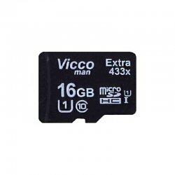 کارت حافظه MicroSDHC ویکو کلاس 10 استاندارد UHS_I U1 ظرفیت 16 گیگابایت