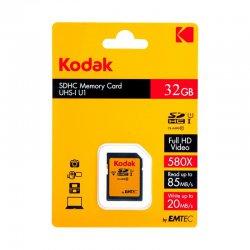 کارت حافظه کداک مدل SDHC کلاس 10 استاندارد UHS_I U1 85mp ظرفیت 32 گیگابایت