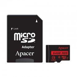 کارت حافظه MicroSDHC اپیسر کلاس 10 استاندارد UHS_I U1 85mp ظرفیت 64 گیگابایت