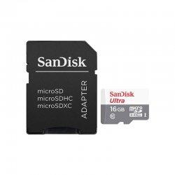 کارت حافظه MicroSDHC سن دیسک مدل Ultra کلاس 10 با سرعت 48MB و ظرفیت 16 گیگابایت