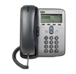 تلفن تحت شبکه باسیم سیسکو مدل CP_۷۹۱۱G