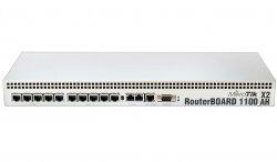روتر شبکه ۱۳ پورت میکروتیک مدل RB۱۱۰۰AHx۲